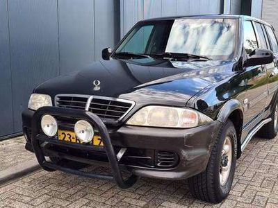 tweedehands Ssangyong Musso 2.9 TDL Automaat Airco Nap