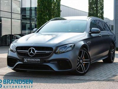 tweedehands Mercedes E63 AMG Estate 4MATIC Premium Plus -selenite grey-