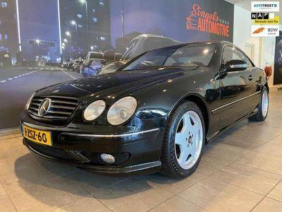 tweedehands Mercedes CL600 CL 600AMG bouwjaar 2000. lage km stand. In sublie