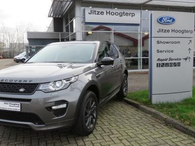 tweedehands Land Rover Discovery Sport 2.0 TD4 R-DYNAMIC 180 pk AUTOMAAT COMMERCIAL / van Camera, Navi, Luxe leder,t