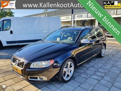 tweedehands Volvo V70 2.0T R-Design, Leer, Xenon, Navi, PDC, Clima, 18''