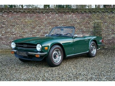 tweedehands Triumph TR6 Well maintained nice drivers condition
