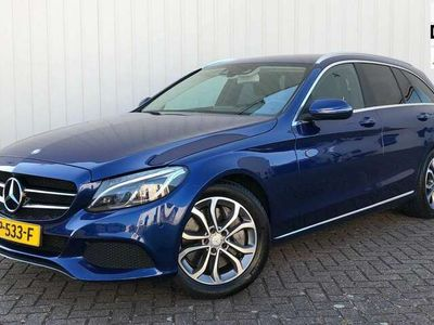 tweedehands Mercedes C350 Estate e EX BTW HEADUP BURMEISTER CAMERA KEYLESS