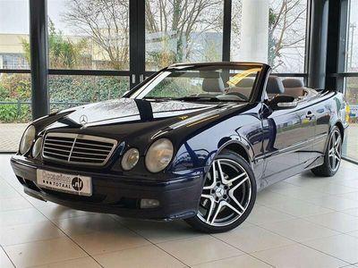 tweedehands Mercedes CLK200 Cabriolet K. Elegance Automaat | Youngtimer