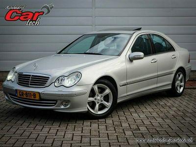 tweedehands Mercedes C240 Elegance Clima | Navi | Cruise | Pdc voor/achter| Xenon | Youngtimer | Lichtmetaal |