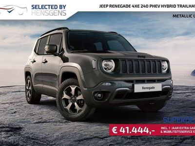 tweedehands Jeep Renegade 4xe 240 PHEV Hybrid Trailhawk