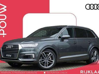 tweedehands Audi Q7 3.0 TDI 374pk Tiptronic e-tron quattro Sport + € 58.100,- INCL. BTW + S-Line In-/ Exterieur