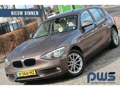 tweedehands BMW 114 114 d Business Leer / Navi / Cruise / PDC / Clima /