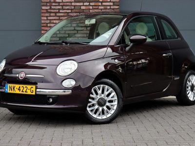tweedehands Fiat 500 1.2 Lounge, Airco, Panoramadak, Blue & Me, Elek. Ramen, Lichtmetalen Velgen, Elek. Spiegels, Etc.
