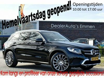 tweedehands Mercedes 220 GLC-KLASSEd 4MOTION ECC SPORTSTOELEN LMV NAVIGATIE