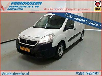 tweedehands Peugeot Partner 1.6 BlueHDi 100PK Automaat Airco 3-Persoons Euro 6!