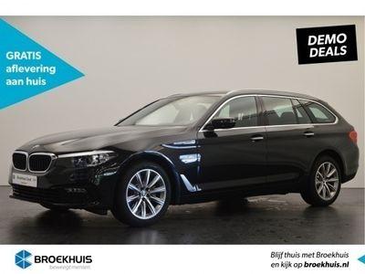 tweedehands BMW 520 5 Serie Touring i | NAVIGATIE PROFESSIONAL | SPORTSTOELEN | PARKING PACK | LENDENSTEUNEN |