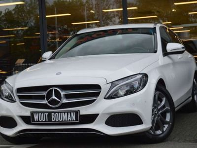 tweedehands Mercedes 200 C-Klasse EstateAvantgarde Aut.7 Navi Led Leder Clima Camera Wegkl.trekh Pdc