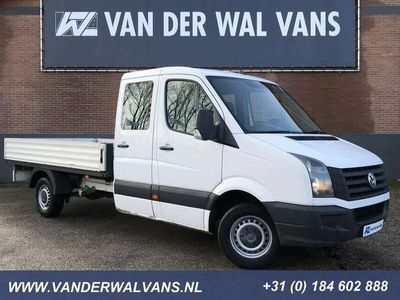 tweedehands VW Crafter 35 2.0TDI 140pk L3 Dubbele Cabine 7-persoons | Air