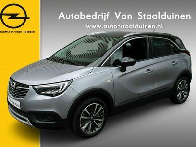 tweedehands Opel Crossland X 1.2 Turbo Ultimate Leer  Navigatie  Zwart dak  17 inch velgen  Camera  Parkeer sensoren