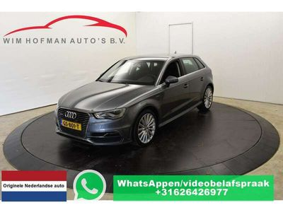 tweedehands Audi A3 Sportback 1.4 e-tron 2xS-Line Trekh Sportstoel Nav