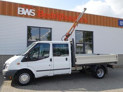 tweedehands Ford Transit 350L 2.2 TDCI DC 6 persoons / lease € 248 / pickup