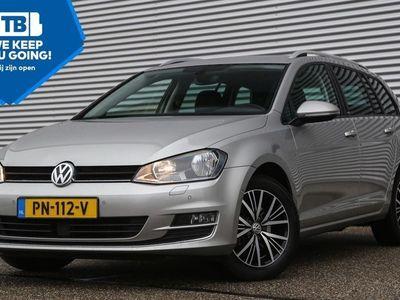 tweedehands VW Golf Variant 1.6 105pk TDI Comfortline Navigatie Trekhaak Parkeersensoren 37