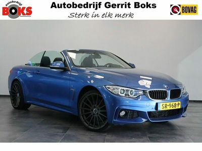 "tweedehands BMW 428 4-SERIE Cabrio i xDrive M-Sport Navigatie Leer ClimateControl CruiseControl 20""LM 245Pk!"