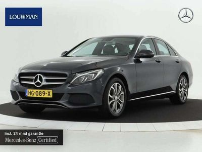 tweedehands Mercedes C350e Lease Edition Plus Navigatie | Airmatic | Achter