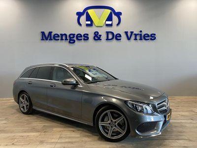 "tweedehands Mercedes 180 C-KLASSE EstateBusiness Solution Plus Upgrade Edition AMG Line | Leer | LED | Camera | 18"" velgen | Navigatie | NL auto | NAP |"