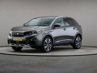tweedehands Peugeot 3008 1.2 PureTech Blue Lease Premium, Half-leder, Navigatie