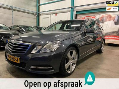 tweedehands Mercedes E200 Estate CGI Business Class Avantgarde leder dealer