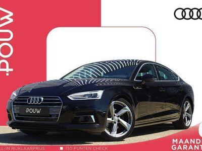 tweedehands Audi A5 Sportback 40 TFSI 190pk S-tronic Sport + Navigatie + Stoelverwarming