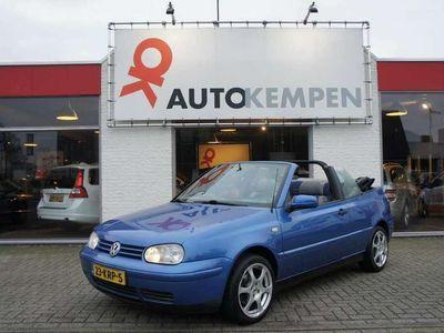 tweedehands VW Golf Cabriolet 1.6 APK 7-2021!
