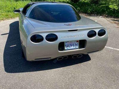 tweedehands Corvette C5 V8 targa dak