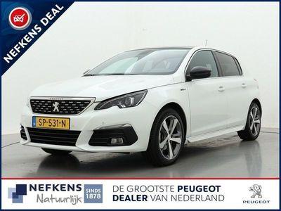 "tweedehands Peugeot 308 1.2 130pk GT-Line | Navigatie | Panoramadak | Full Led | Donker getint glas | 17"" lm velgen |"