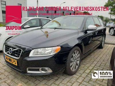 tweedehands Volvo V70 BWJ 2010 2.0 D3 163 PK R-Design LEER / CLIMA / CRUISE / LMV