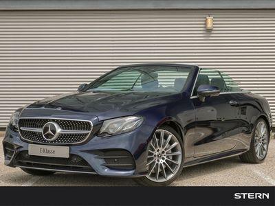 tweedehands Mercedes E350 E-KlasseCabriolet Automaat AMG Line   Camera   Memory   Sfeerverlichting   Keyless   Burmester