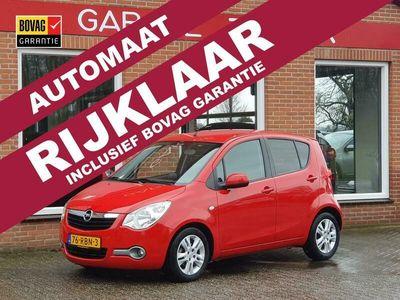 tweedehands Opel Agila 1.2 Edition AUTOMAAT 94PK 5drs airco, Έlectric.ramen, lmv RIJK