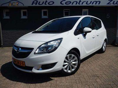 tweedehands Opel Meriva 1.4 TURBO 140PK S/S COSMO pdc stuurver. stoelverwe