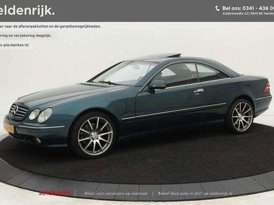 tweedehands Mercedes CL500 | Origineel NL | Xenon | BOSE | Schuif-/kanteldak | Lede