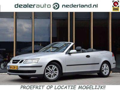 tweedehands Saab 9-3 Cabriolet 1.8t Vector   AC   Cruise control   Trekhaa