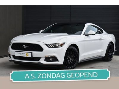 tweedehands Ford Mustang Fastback 2.3 320 PK EcoBoost | LEDER | CAMERA | NAVI | CRUISE CONTROL | PDC | LMV | ORG. NL