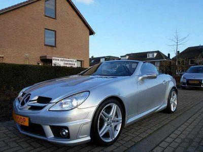 tweedehands Mercedes SLK350 V6 305PK AUT. AMG-PAKKET|NAVIGATIE|AIRSCARF|AMG-UI