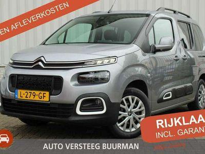 tweedehands Citroën Berlingo 1.2 PureTech Shine Trekhaak, Navigatie, Parkeersensoren, Stoelverwarming