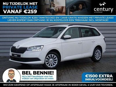 tweedehands Skoda Fabia Combi 1.0 TSI Active 95 pk / ABS / Bandenspannings