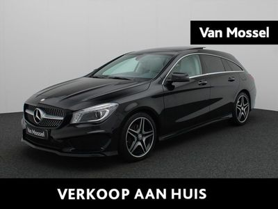 tweedehands Mercedes 200 CLA-KLASSE Shooting Brake///AMG Ambition (Leder/Pano/H&K/Camera)