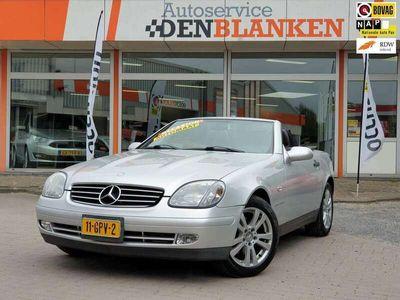 tweedehands Mercedes SLK230 K. BJ.1999 / Automaat / Leder / Cabrio / Aircondit