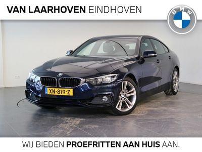 "tweedehands BMW 420 4-SERIE Gran Coupé i Automaat High Executive Sportline / Media pack / Parking pack / Leder Sportstoelen / 18""LM velgen"