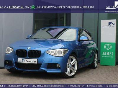 tweedehands BMW 116 1-SERIE i M-Sportpakket Estoril-blau / Navigatie