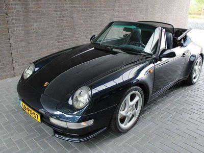 tweedehands Porsche 911 Carrera 4 Cabriolet 993 Cabrio 993 Airco Nederlandse A