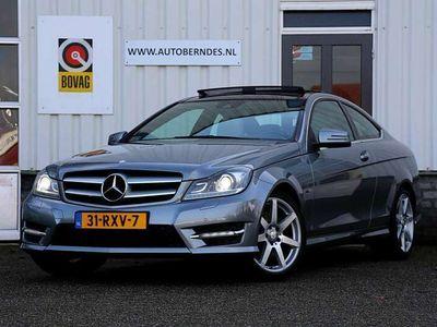 tweedehands Mercedes C350 Coupé 306PK 6 Cilinder AMG Aut.*NL-Auto*Perfect de