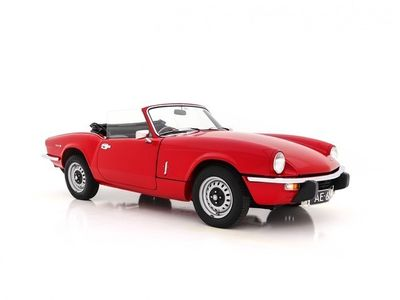 tweedehands Triumph Spitfire 1300 MK IV Soft Top RHD (CONCOURS-STAAT)