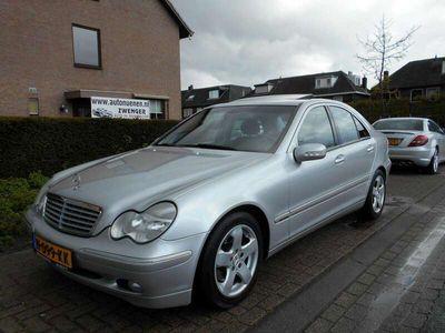 tweedehands Mercedes C320 -V6 Elegance|LEER|STOELVERWARMING|CRUISECONTROL