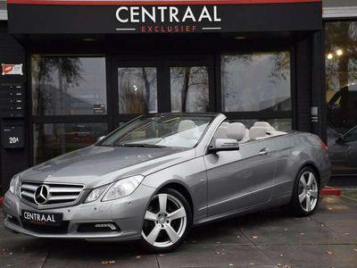 tweedehands Mercedes E350 Cabriolet CDI Elegance, Navi, Camera, Leder